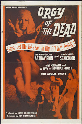 Orgy of the Dead (1965, USA) movie poster
