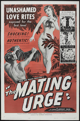 The Mating Urge (1959, USA) movie poster