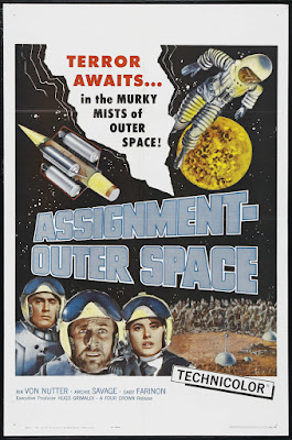Assignment Outer Space (aka Space Men) (1960, Italy) movie poster
