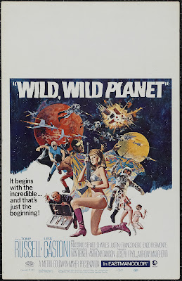 Wild, Wild Planet (I Criminali della galassia / The Galaxy Criminals) (1965, Italy) movie poster