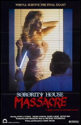 Sorority House Massacre (1986, USA) movie poster