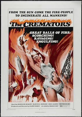 The Cremators (1972, USA) movie poster