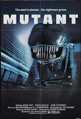 Forbidden World (aka Mutant) (1982, USA) movie poster