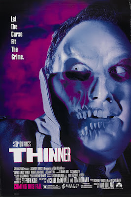 Thinner (1996, USA) movie poster