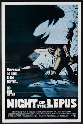 Night of the Lepus (1972, USA) movie poster