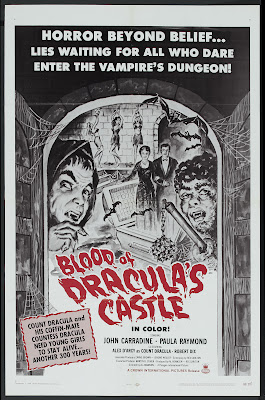 Blood of Dracula's Castle (1969, USA) movie poster