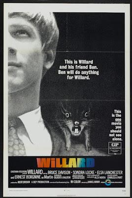 Willard (1971, USA) movie poster