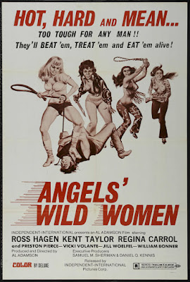 Angels' Wild Women (1972, USA) movie poster