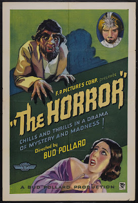 The Horror (1932, USA) movie poster