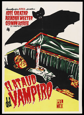 The Vampire's Coffin (El Ataúd del Vampiro) (1958, Mexico) movie poster