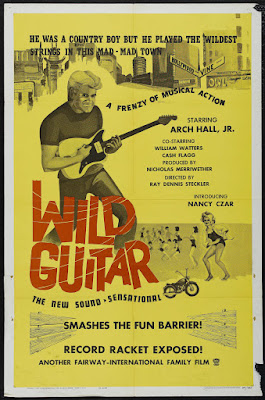 Wild Guitar (1962, USA) movie poster