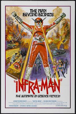 Infra-Man (Zhong guo chao ren, aka The Super Inframan) (1975, Hong Kong) movie poster