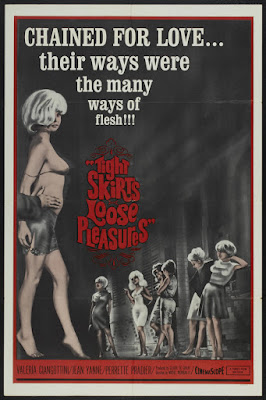 Tight Skirts, Loose Pleasures (L'amour à la chaine / Chained Love) (1964, France) movie poster