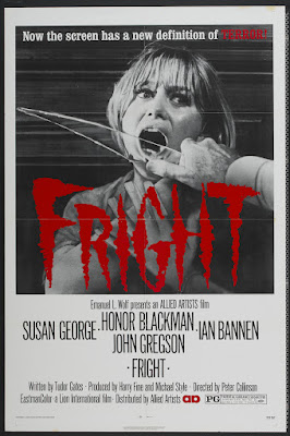 Fright (1971, UK) movie poster