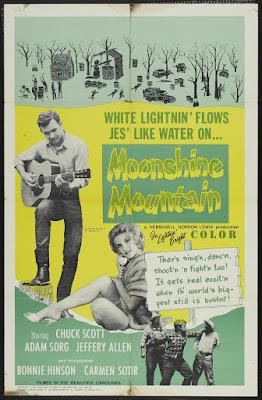 Moonshine Mountain (1964, USA) movie poster