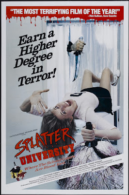Splatter University (1984, USA) movie poster