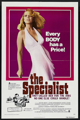The Specialist (1975, USA) movie poster