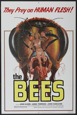 The Bees (1978, USA / Mexico) movie poster