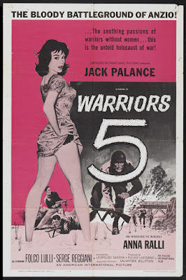 Warriors Five (La guerra continua / The Long War) (1962, France / Italy / Yugoslavia) movie poster