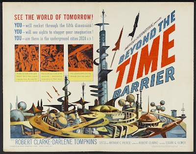 Beyond the Time Barrier (1960, USA) movie poster