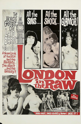 London in the Raw (1964, UK) movie poster