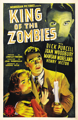 King of the Zombies (1941, USA) movie poster