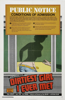 The Dirtiest Girl I Ever Met (aka Cool It Carol!) (1970, UK) movie poster