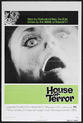 House of Terror (1973, USA) movie poster