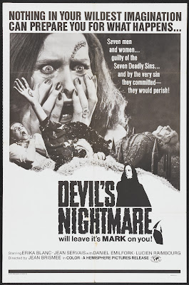 Devil's Nightmare (La plus longue nuit du diable / The Devil's Longest Night) (1971, Italy / Belgium) movie poster