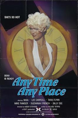 Any Time, Any Place (1981, USA) movie poster