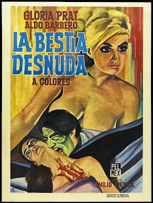 The Naked Beast (La bestia desnuda) (1971, Argentina) movie poster
