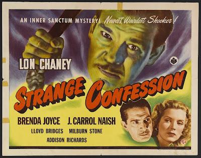 Strange Confession (1945, USA) movie poster