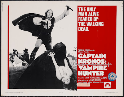 Captain Kronos - Vampire Hunter (1974, UK) movie poster