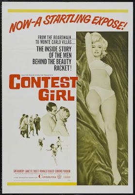 Contest Girl (aka The Beauty Jungle) (1964, UK) movie poster