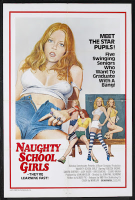 Naughty Schoolgirls (1976, USA) movie poster