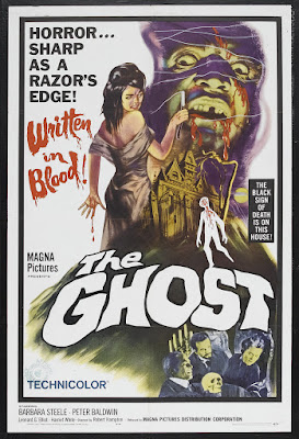 The Ghost (Lo Spettro / The Spectre) (1963, Italy) movie poster