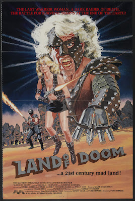 Land of Doom (1986, USA) movie poster