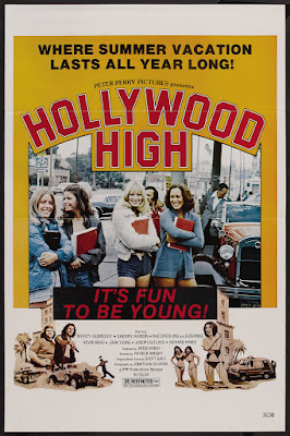 Hollywood High (1976, USA) movie poster