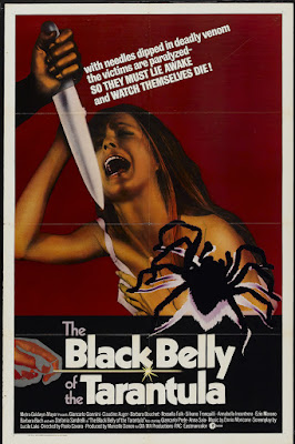 Black Belly of the Tarantula (La tarantola dal ventre nero) (1971, Italy / France) movie poster