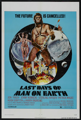 The Last Days of Man on Earth (aka The Final Programme) (1973, UK) movie poster