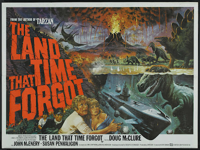 The Land That Time Forgot (1975, UK / USA) movie poster