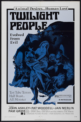 The Twilight People (1973, USA / Philippines) movie poster