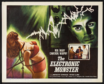 The Electronic Monster (aka Escapement) (1958, UK) movie poster