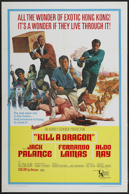 Kill a Dragon (1967, USA) movie poster