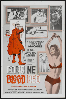 Color Me Blood Red (1965, USA) movie poster