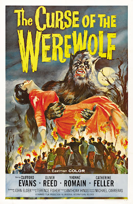The Curse of the Werewolf (1961, UK) movie poster