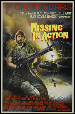 Missing in Action (1984, USA) movie poster
