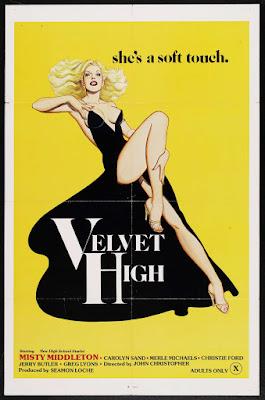 Velvet High (1980, USA) movie poster
