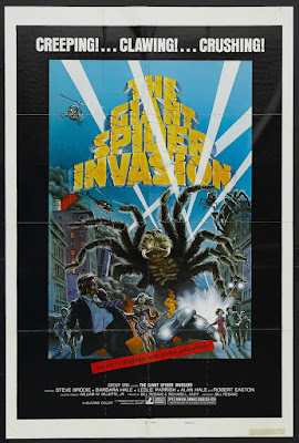 The Giant Spider Invasion (1975, USA) movie poster