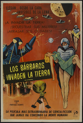 The Mysterians (Chikyû Bôeigun) (1957, Japan) movie poster